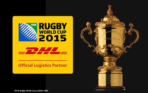 Công ty DHL chính thức là đối tác Rugby World Cup 2015