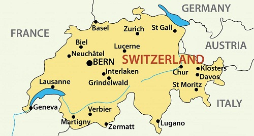 Chuyển phát nhanh quốc tế đi Thụy Sỹ-Zürich