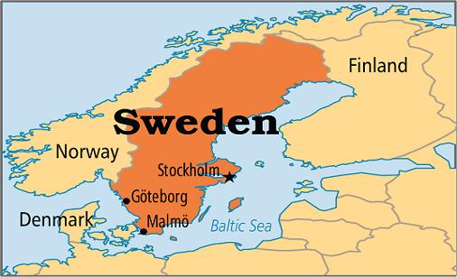 Chuyển phát nhanh quốc tế đi Thụy Điển|Sweden