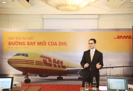 DHL Việt Nam mở đường bay mới để chuyển phát khu vực Châu Á.